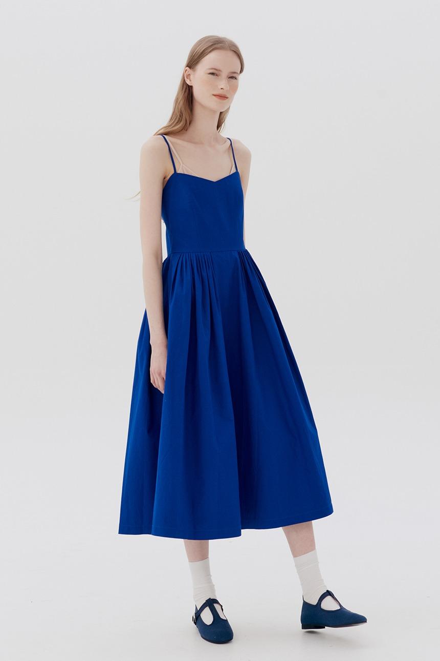 [6/25 예약배송][김나영착용]SAGYE Camisole dress (Blue)