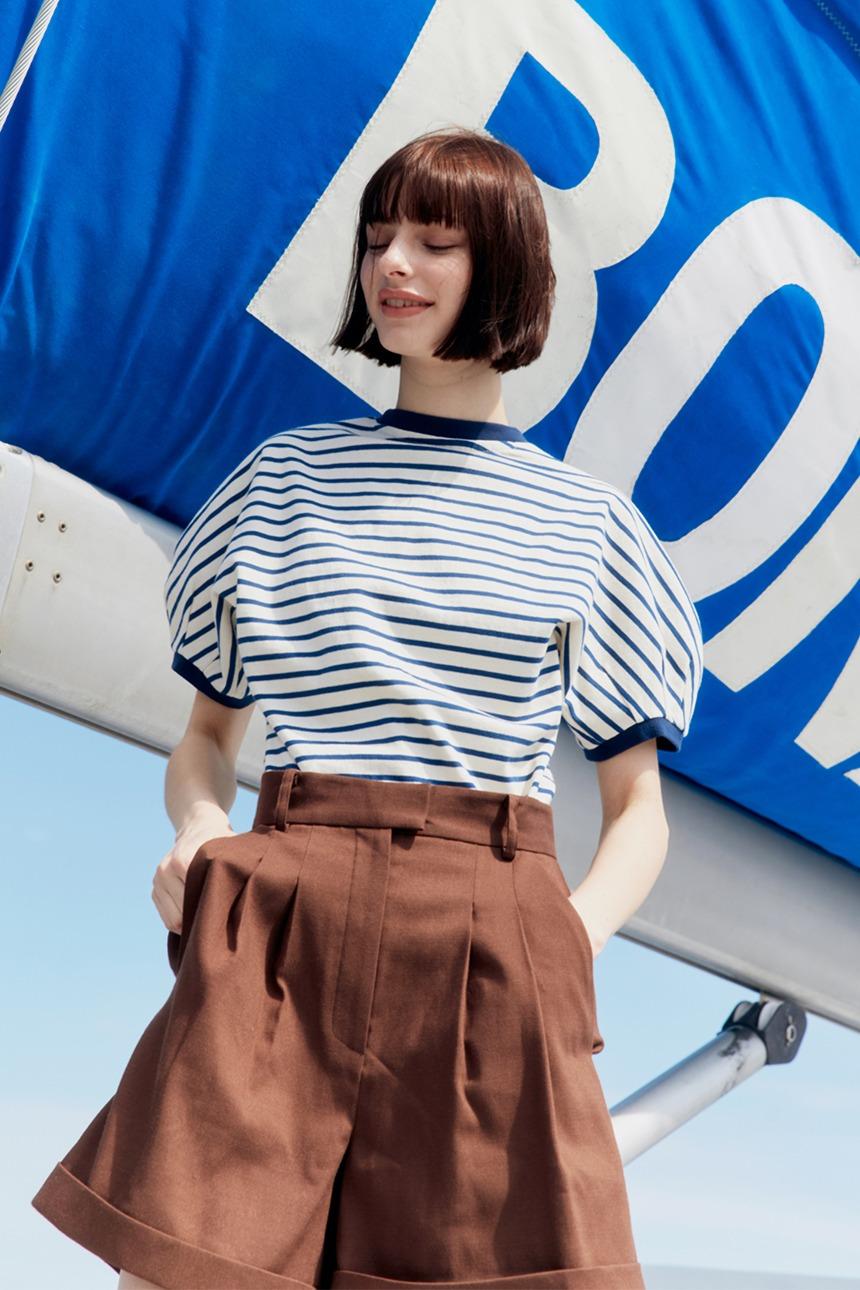 PANPO T-shirt (Blue stripe)