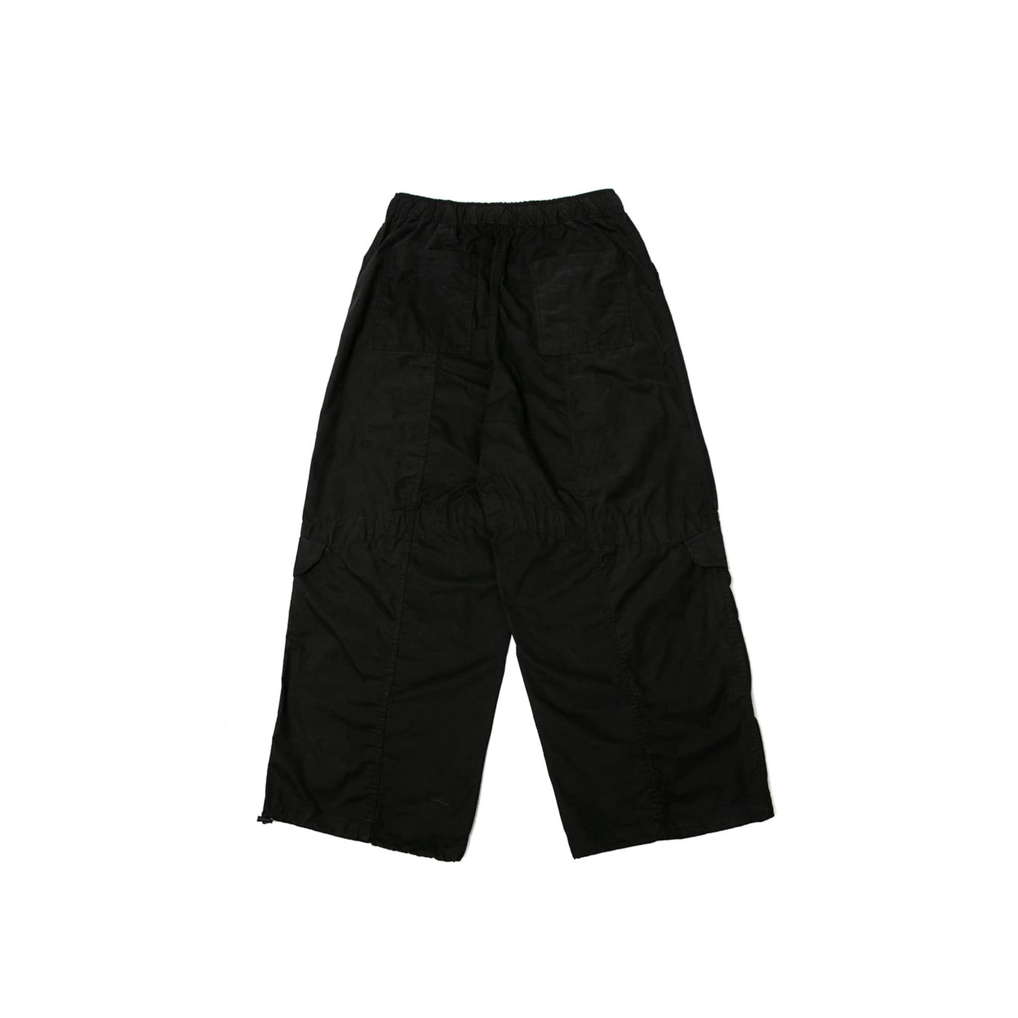 Belt Army Balloon Pants - Black