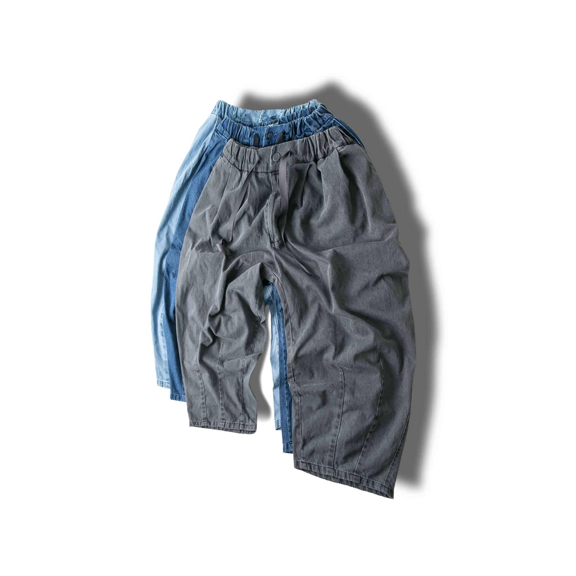 Denim Balloon Pants - 3color