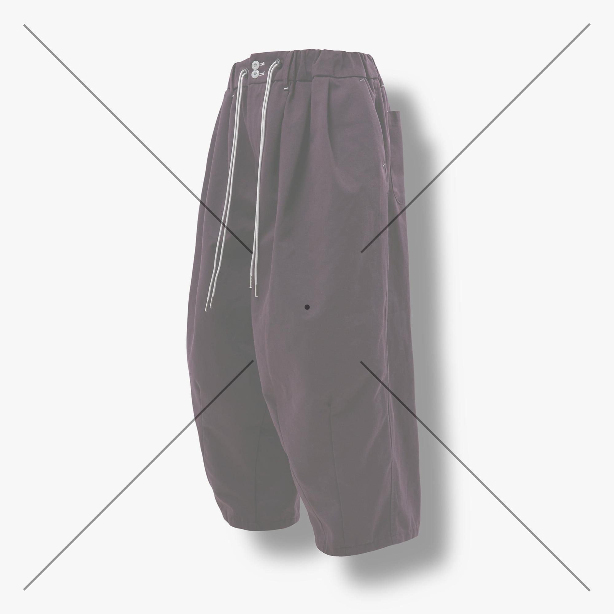 [AG] Ethnic String Balloon Pants - Purple