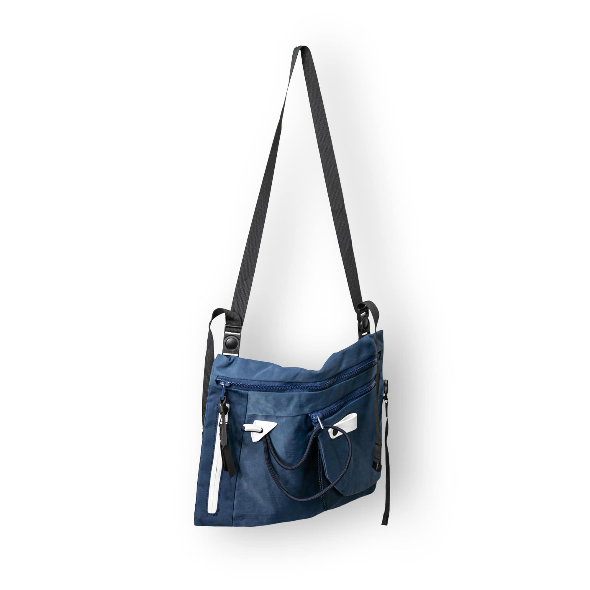Utility String Sacoche Bag - Navy