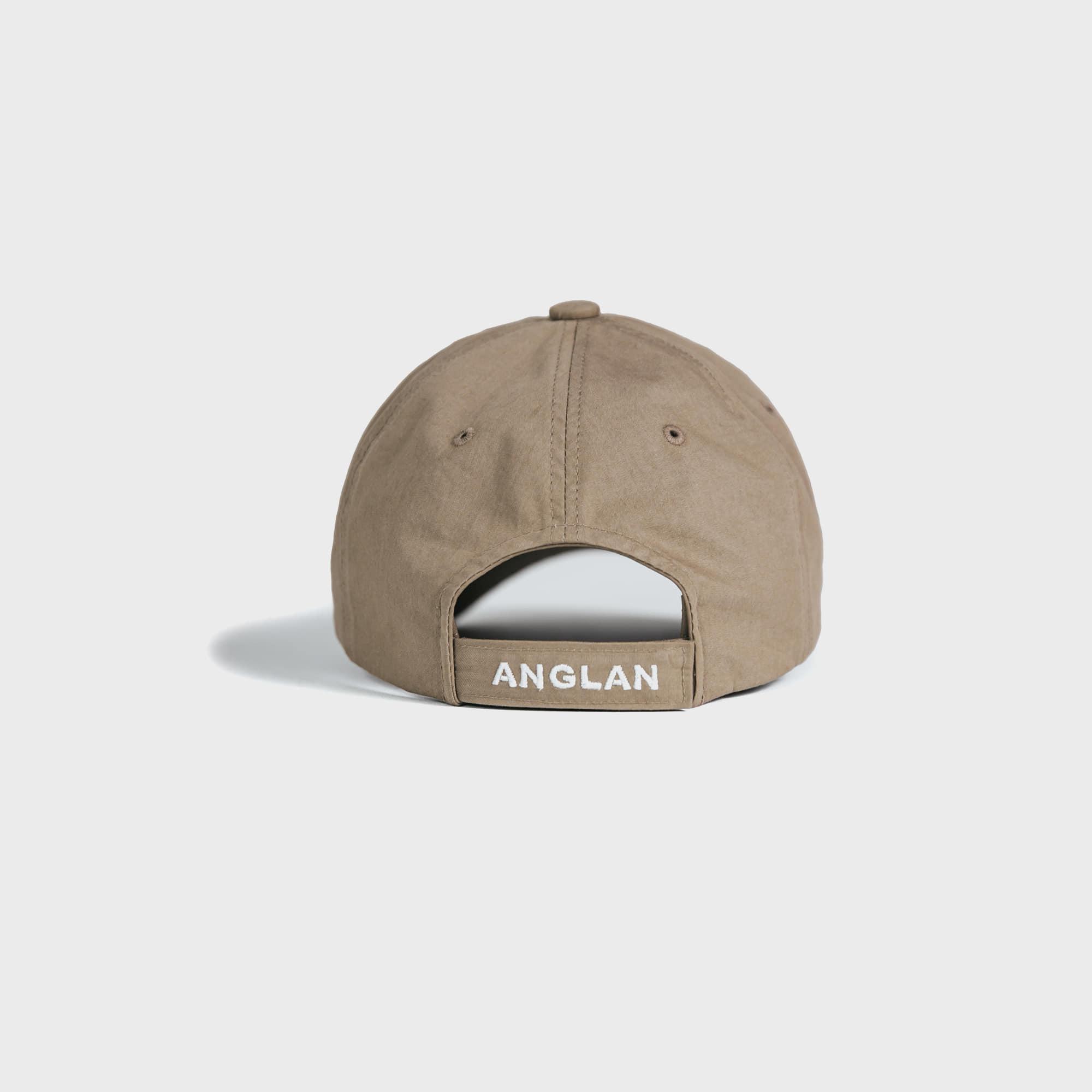 [AG] Signature Logo Ball Cap - Beige