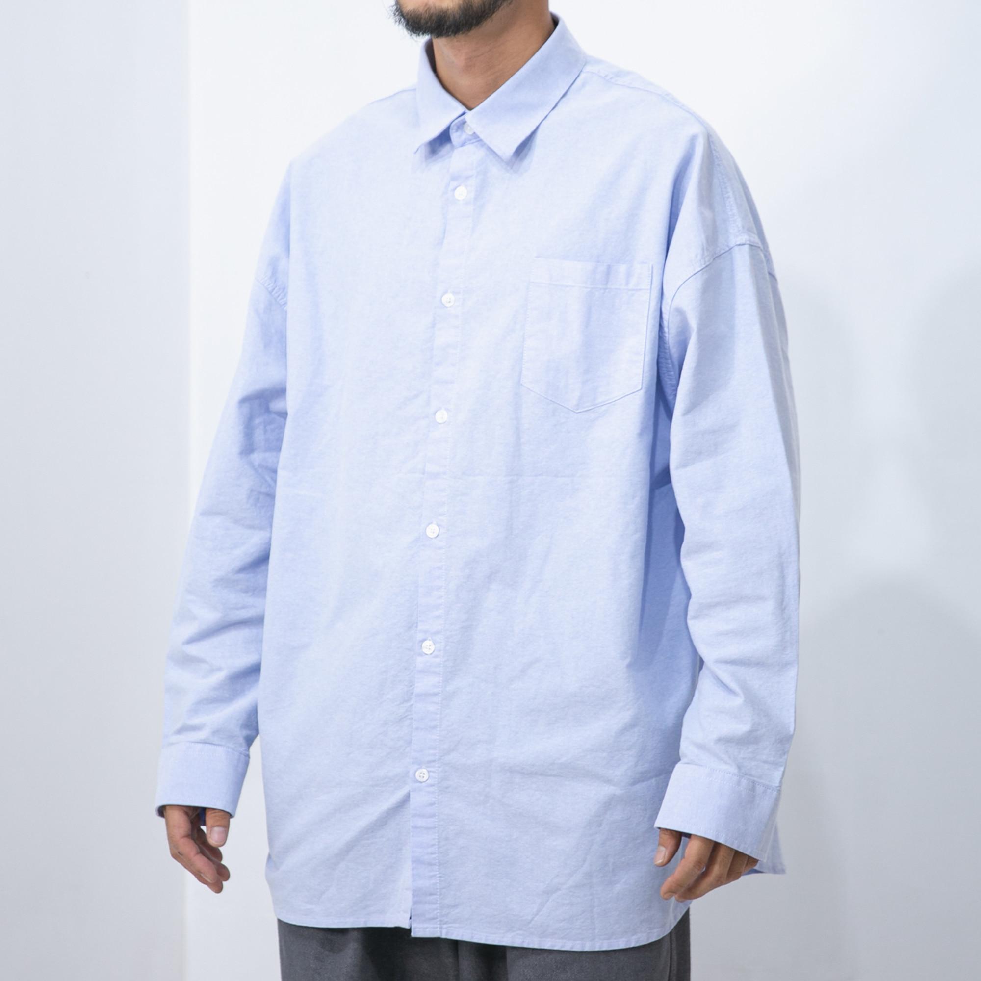 Oxford Wide Shirt - Light Blue