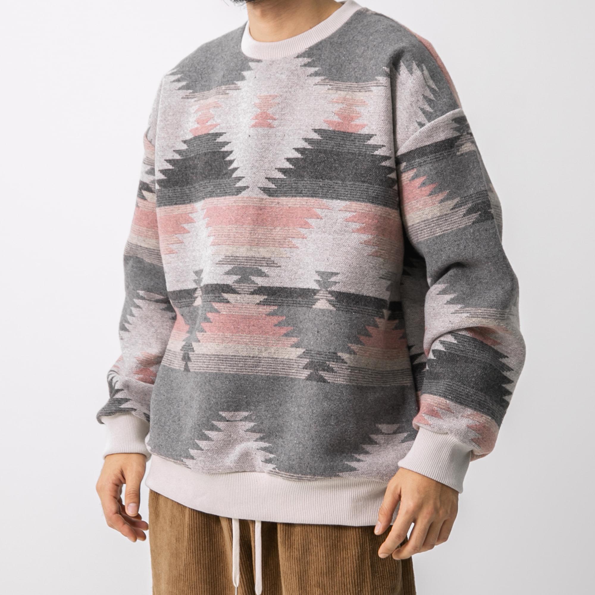 Ethnic Sweat Shirt - Pink