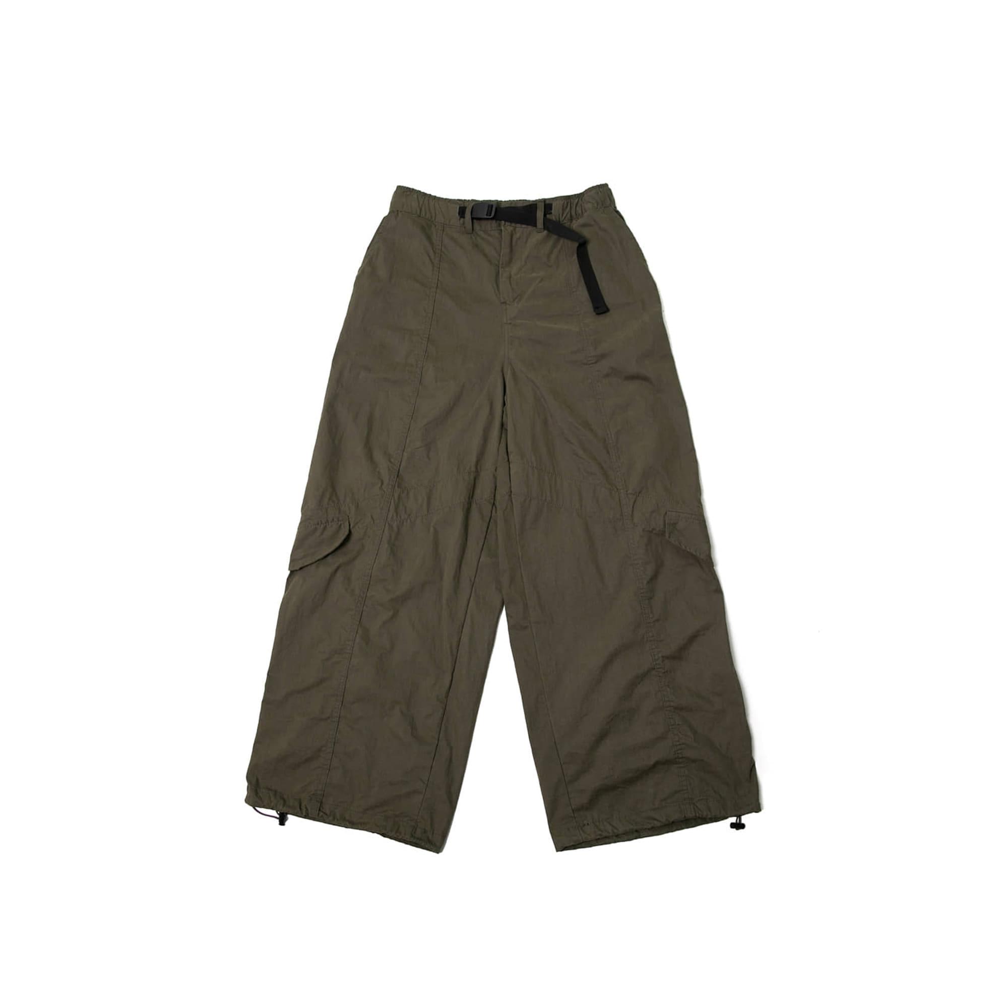 Belt Army Balloon Pants - Khaki