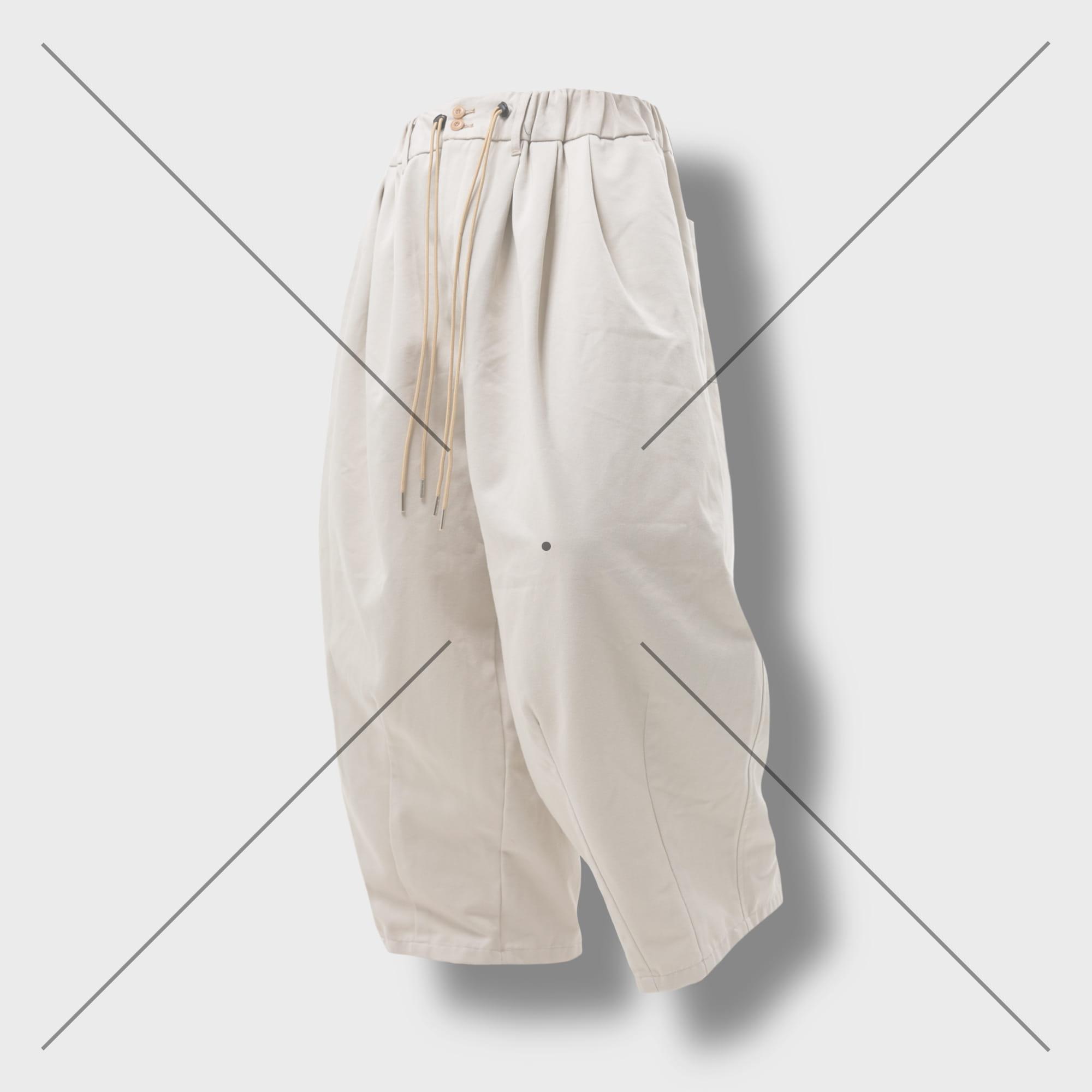 [AG] Ethnic String Balloon Pants - Cream