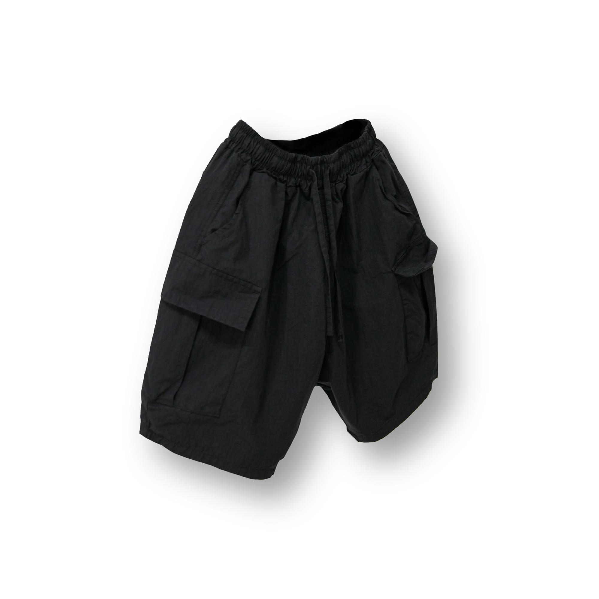 Volume Cargo Shorts - Black