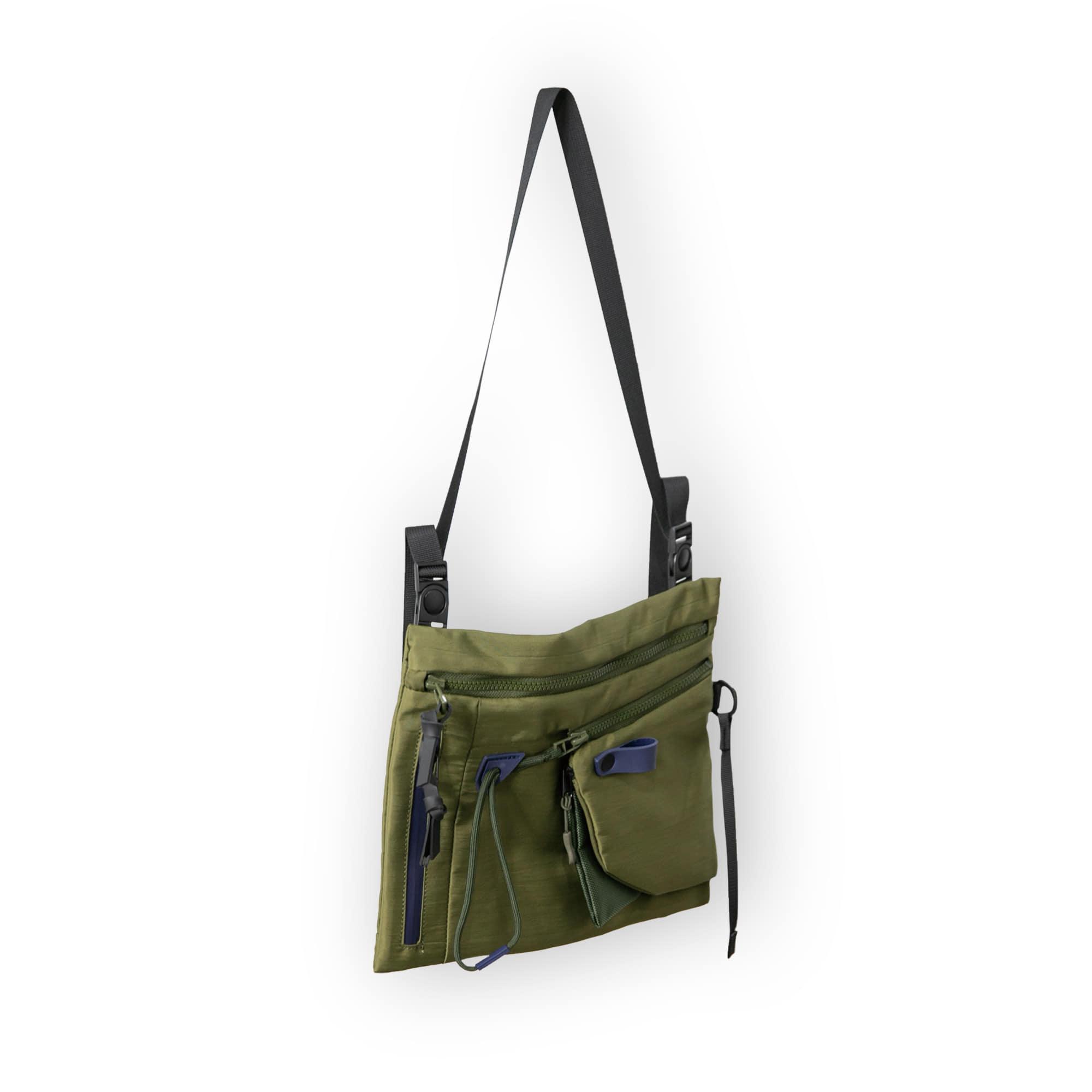 Utility String Sacoche Bag - Khaki