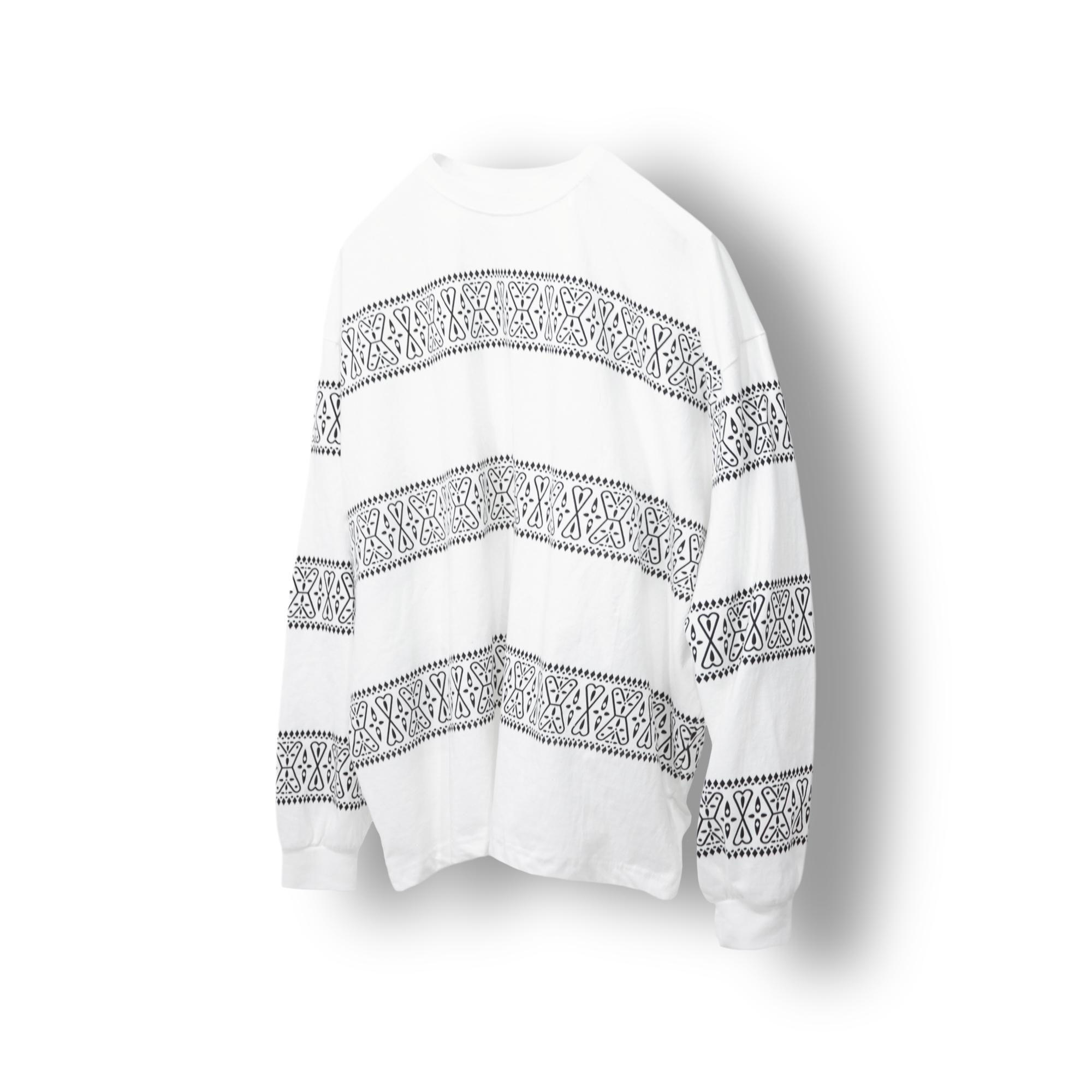 Ethnic Cuma Long Sleeve - Ivory