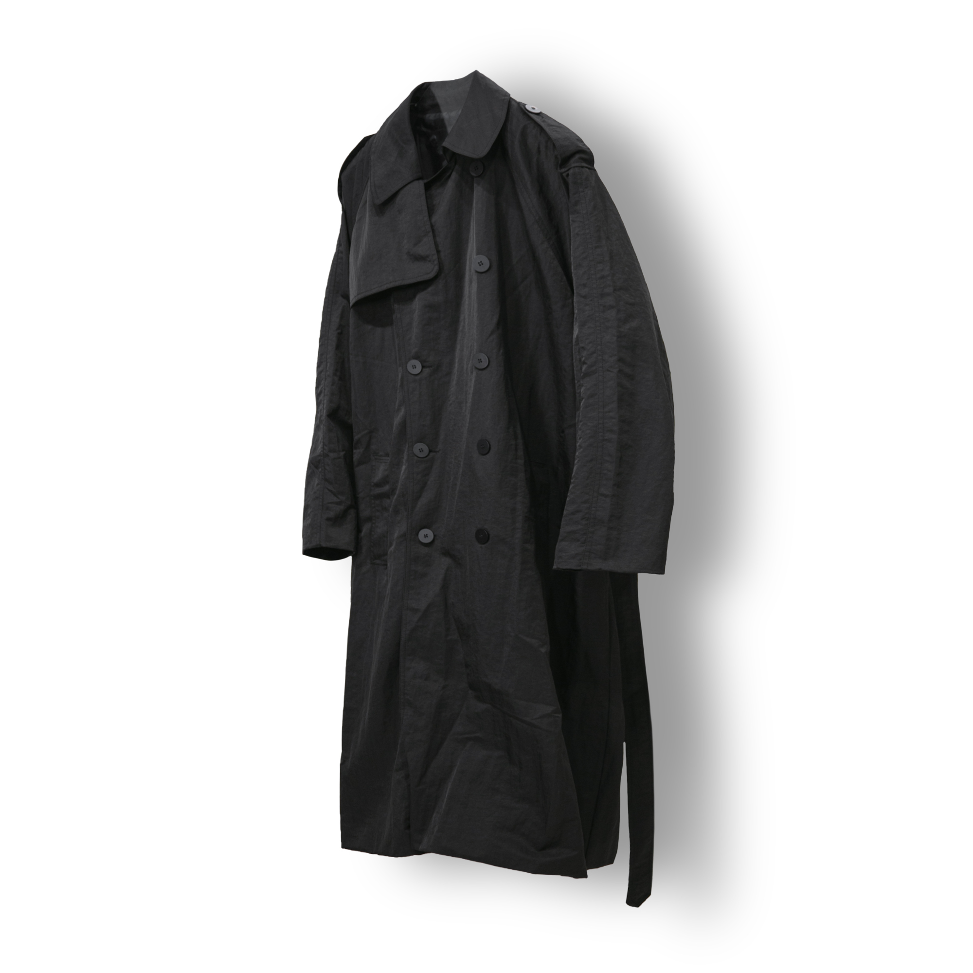 General Over Trench Coat - Black