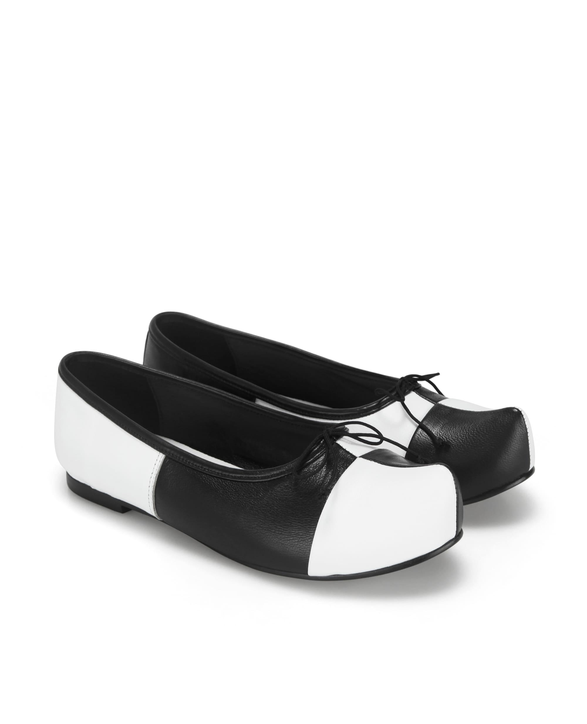 Pointed Toe Ballerina Flats | Checkerboard