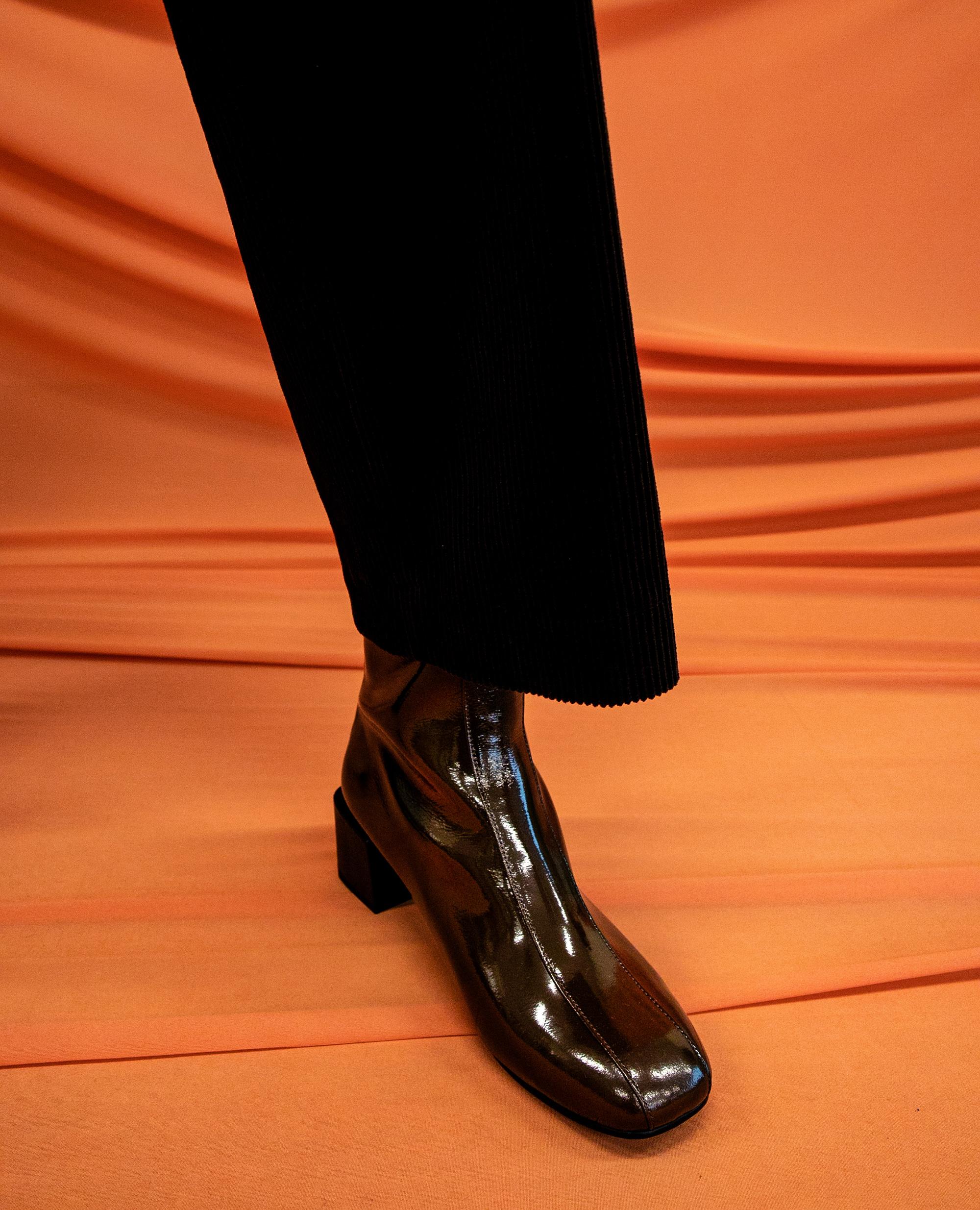 플랫아파트먼트써클, 앵클부츠, 미드힐부츠, flat apartment circle, ankle boots