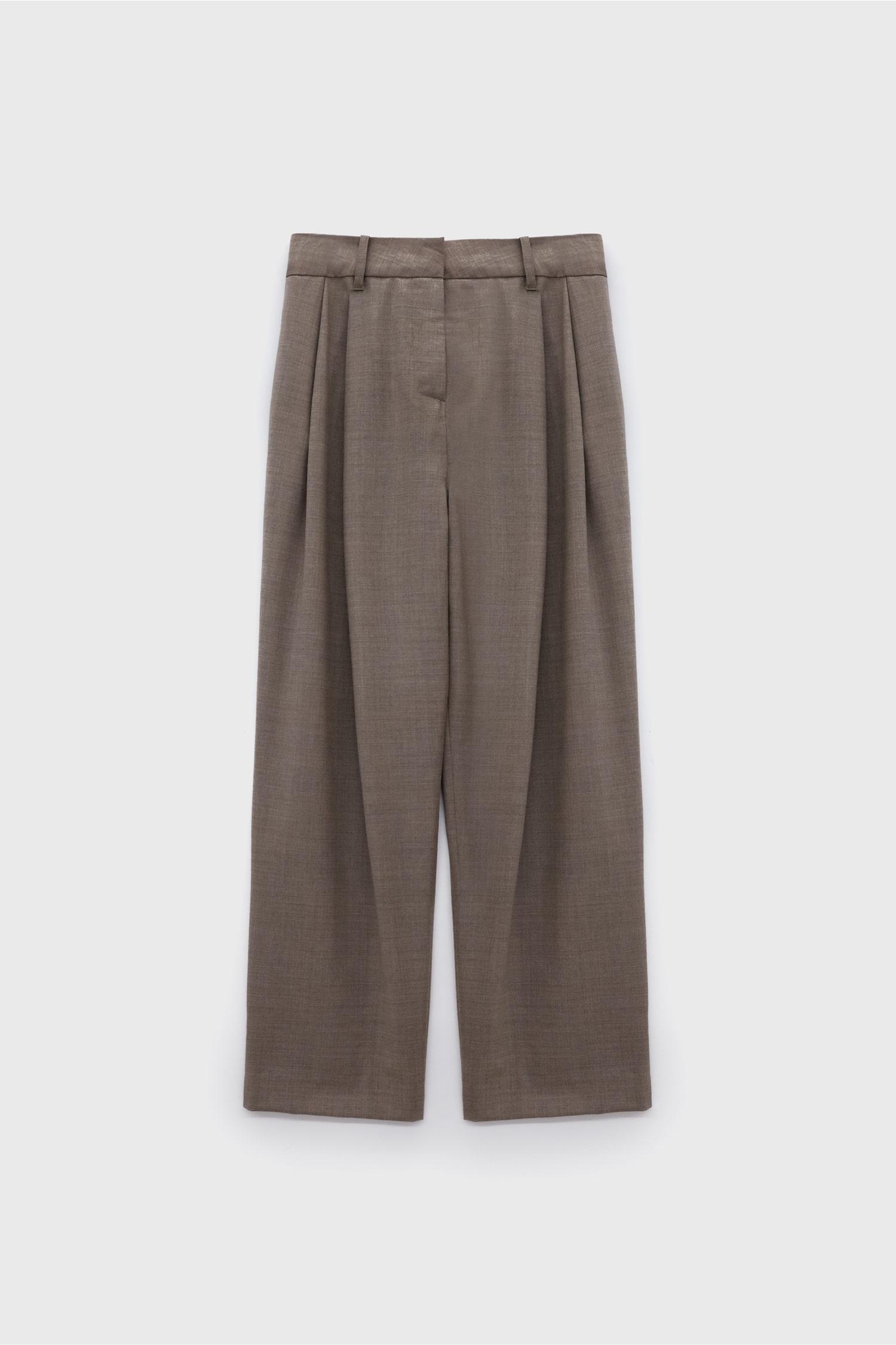 Two Pleats Pants
