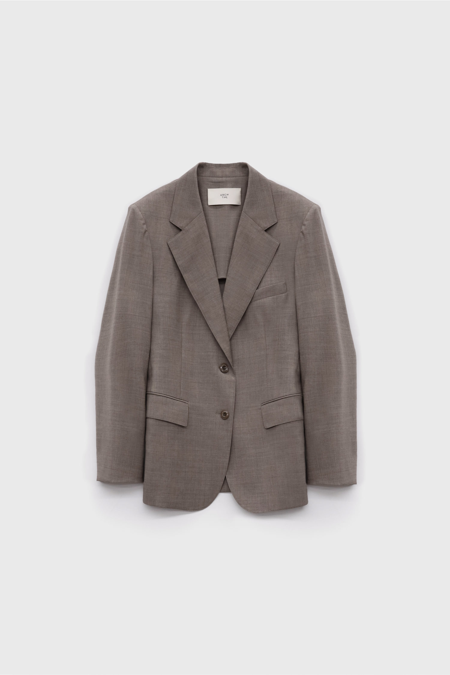 Stretch Single Breasted Jacket