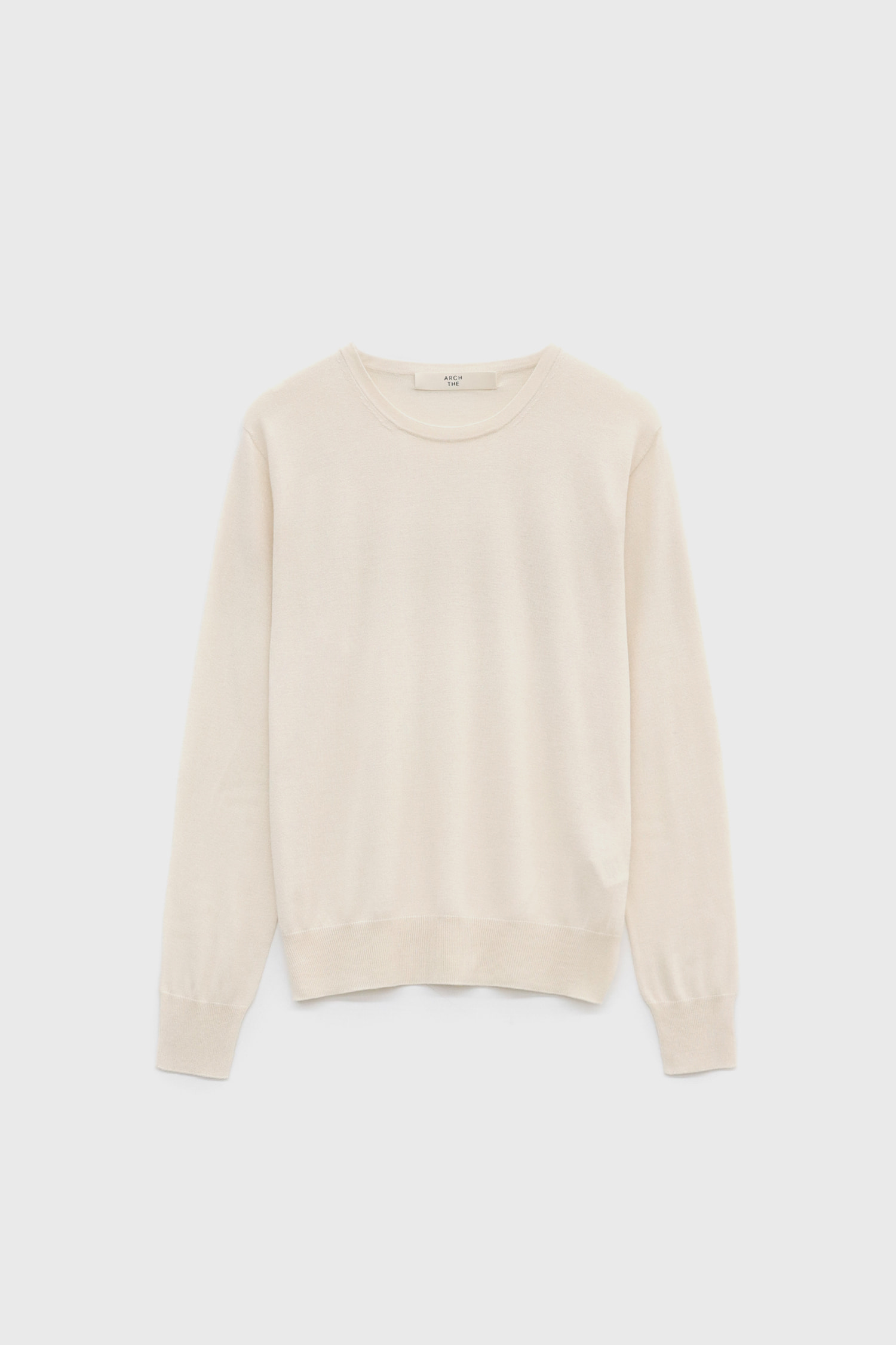 Relaxed fit long-sleeved sweater