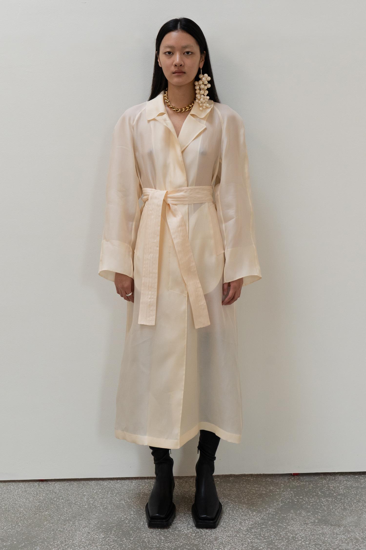 Oganza Belted Coat