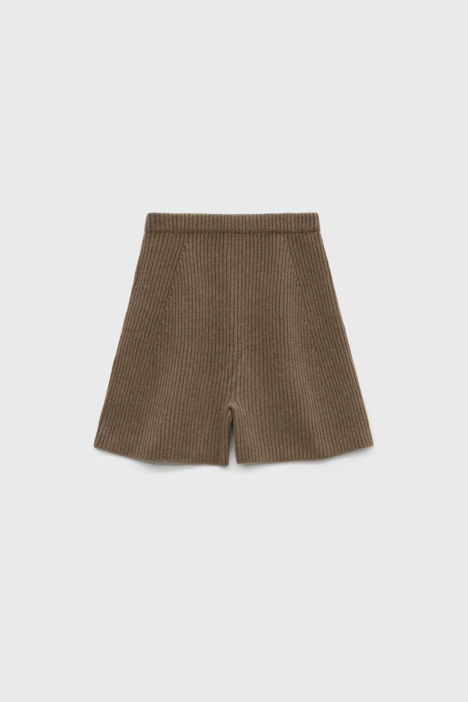 Cashmere Short Pants