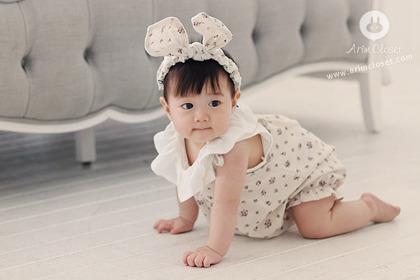 [4차제작] 라벤더 향기나는 베베 - flower baby body suit