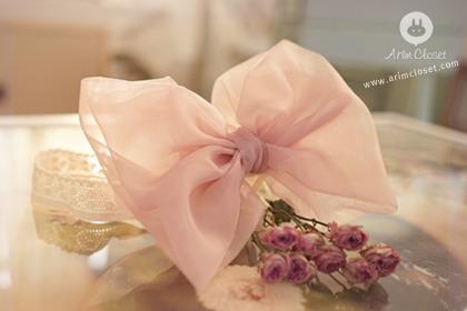 [2차제작] 분홍 풍선 한손에 들고.. - big pink ribbon babyband