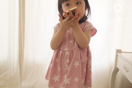 [5차제작] 달콤한 별에서 온 쪼꼬미 - baby pink stars blouse
