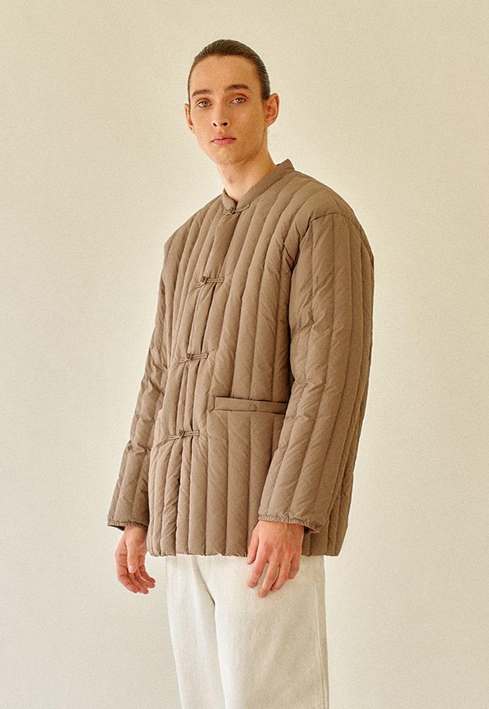 Oriental Styled Goose Down Jacket_ Snail