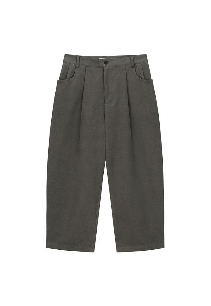 Structured Wide Pants_ Dark Mocha