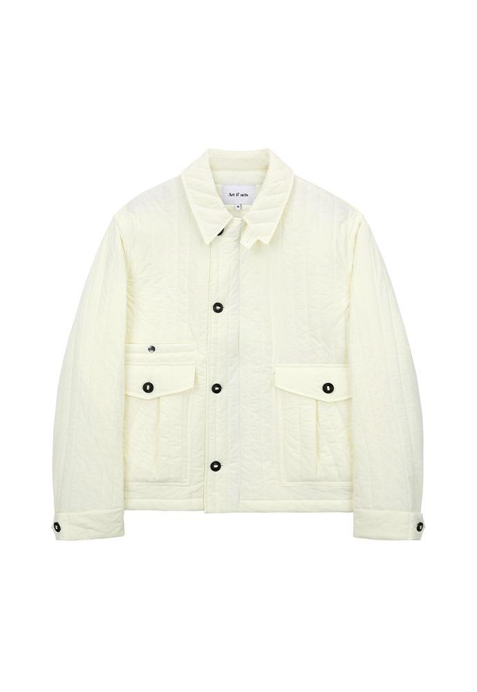 Padded MK3 Jacket_ Cream