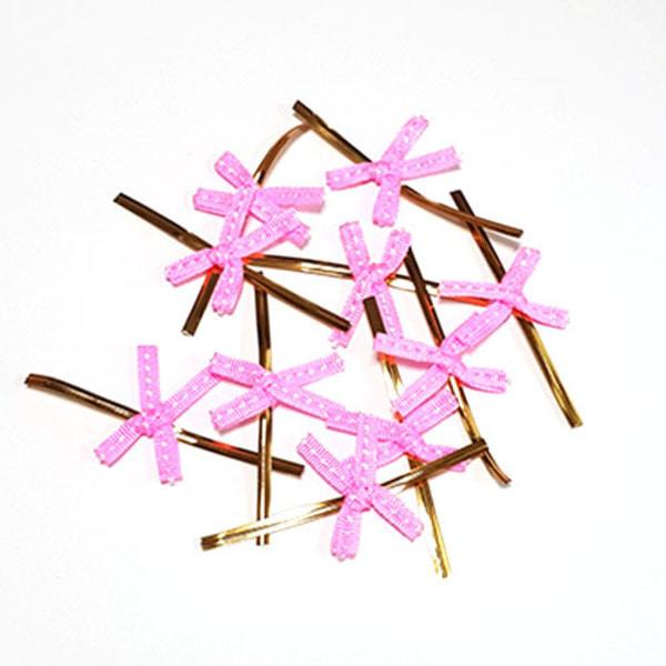 [천원의 행복] 타이 스티치 핑크 10개