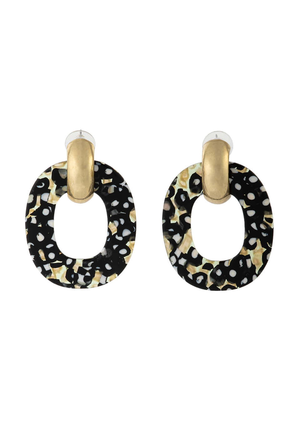 Ellipse Earring (panther)