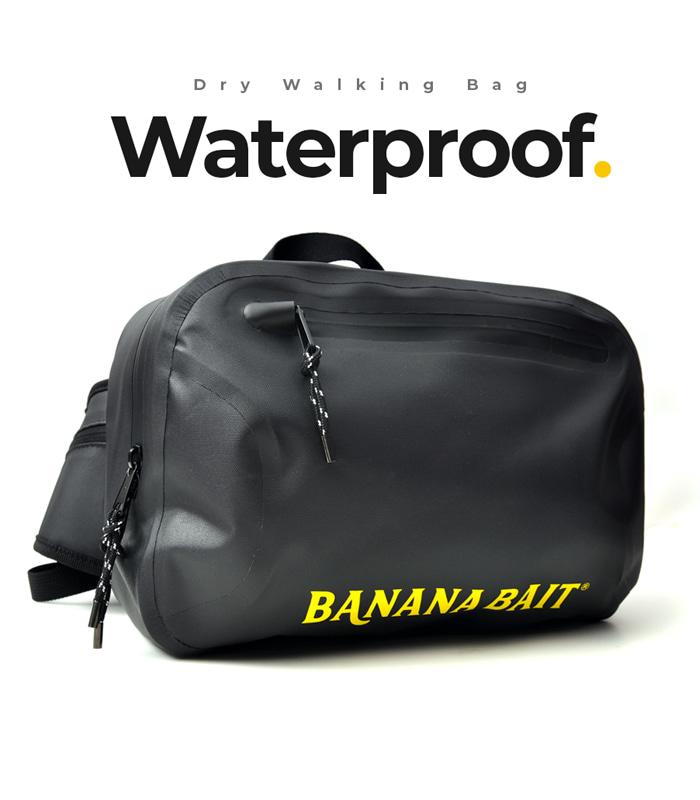 Dry Banana walking Bag 방수 낚시 가방 / Black