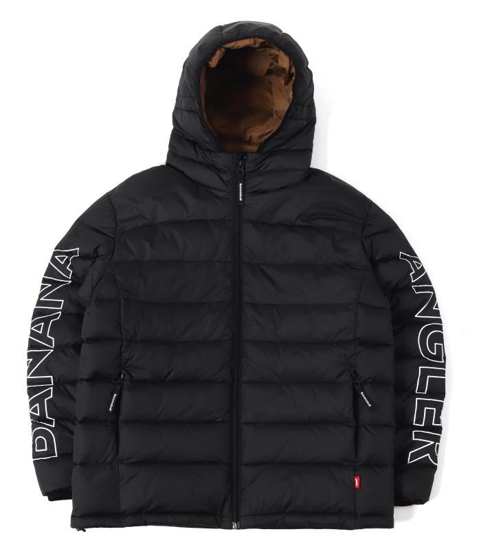 [생활방수] 바나나베이트 OLAF 덕다운 겨울 방한 낚시복 자켓 / Black