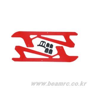 Painted Carbon Landing Strut(Red) : E5(E5-8014)
