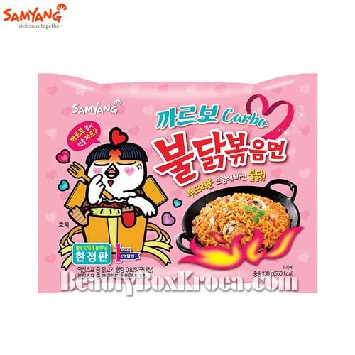 SAMYANG Carbo Hot Chicken Flavor Ramen 130g,SAMYANG
