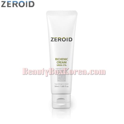 ZEROID Richenic Cream Urea 5% 60ml,ZEROID