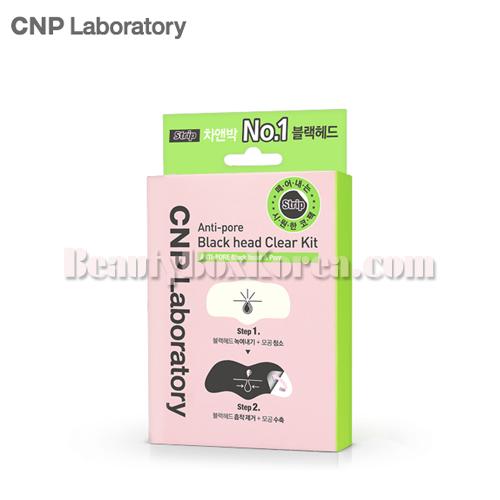 CNP Laboratory Anti-Pore Black Head Clear Kit Strip 3ea,CNP Laboratory