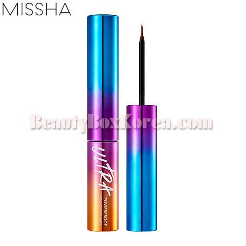 MISSHA Ultra Powerproof Liquid Liner 4g,MISSHA