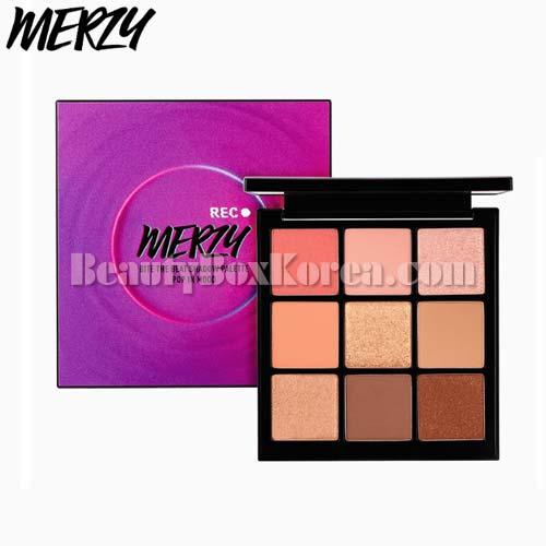 MERZY Bite The Beat Shadow Palette #Pop In Mood 13.1g [HEILEY X MERZY][Online Excl.],MERZY