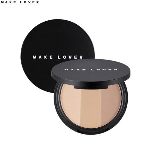 MAKE LOVER Triple Bronzing Shadow 10g