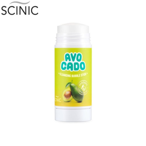 SCINIC Avocado Cleansing Bubble Stick 55g