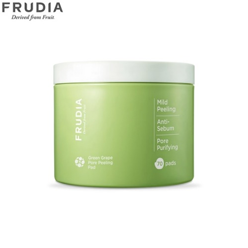 FRUDIA Green Grape Pore Peeling Pad (Jar) 70ea 170ml