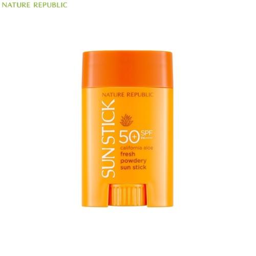 NATURE REPUBLIC California Aloe Fresh Powdery Sun Stick SPF50+ PA++++ 22g