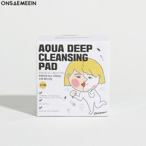 ONSAEMEEIN Aqua Deep Cleansing Pad 30ea 90ml