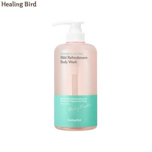 HEALING BIRD Botanical French Perfume Mild Refreshment Body Wash 750ml