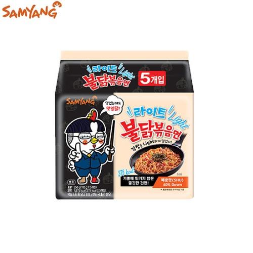 SAMYANG Light Spicy Fried Noodle Buldak Bokkeum Myun 110g*5ea