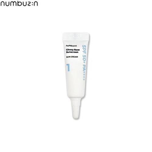 [mini] NUMBUZIN Glossy Base Sunscreen 5ml,Beauty Box Korea,NUMBUZIN,NUMBUZIN
