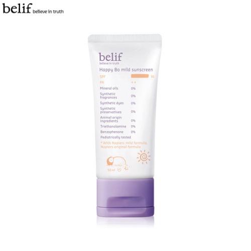 BELIF Happy Bo Mild Sunscreen SPF30 PA++ 50ml