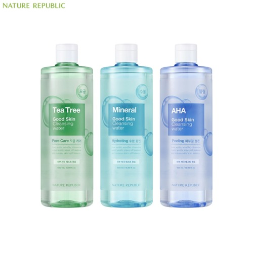 NATURE REPUBLIC Good Skin Ampoule Cleansing Water 500ml