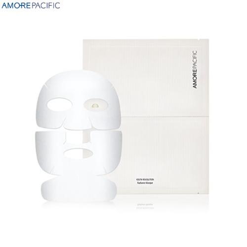 AMOREPACIFIC Youth Revolution Radiance Sheet Masque 40g,Beauty Box Korea