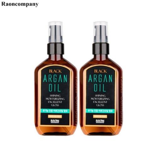 RAON Black Argan Oil 100ml*2ea,Beauty Box Korea,RAON,RAON